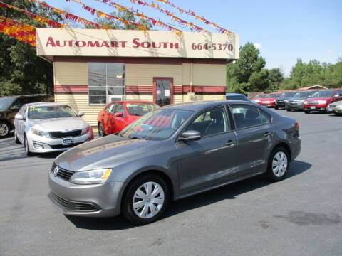 2011 Volkswagen Jetta for sale at Automart South in Alabaster AL