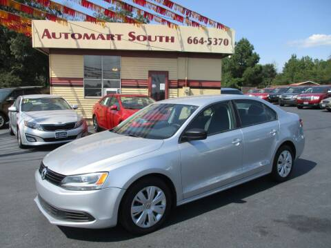 2012 Volkswagen Jetta for sale at Automart South in Alabaster AL