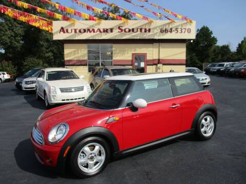 2009 MINI Cooper for sale at Automart South in Alabaster AL