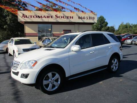2009 Mercedes-Benz M-Class for sale at Automart South in Alabaster AL