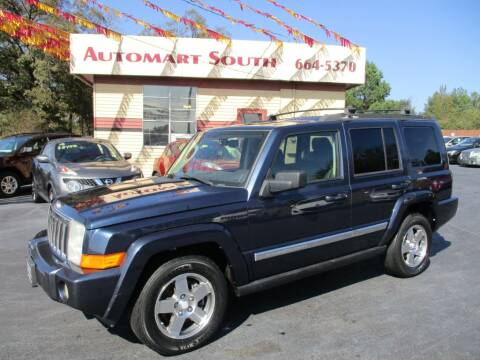 2010 Jeep Commander for sale at Automart South in Alabaster AL