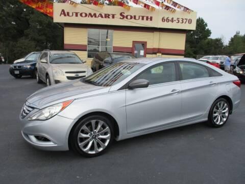 2012 Hyundai Sonata for sale at Automart South in Alabaster AL