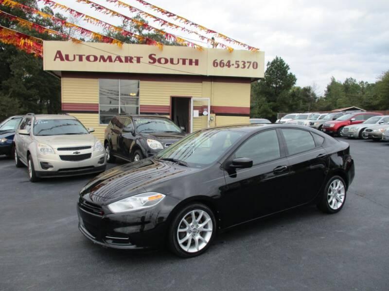 2013 Dodge Dart for sale at Automart South in Alabaster AL