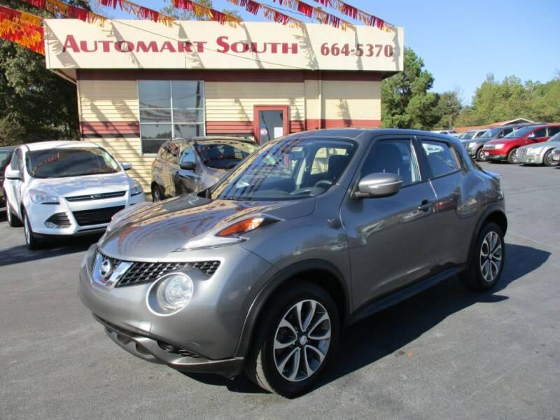 2016 Nissan JUKE for sale at Automart South in Alabaster AL