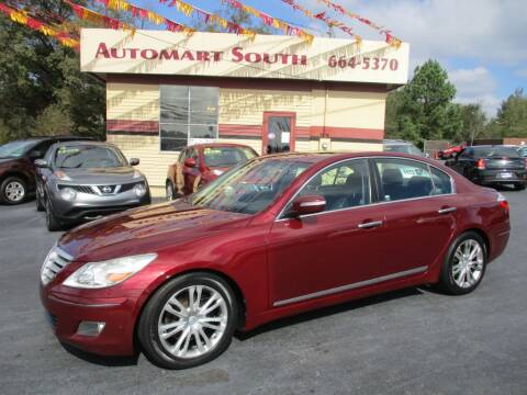 2009 Hyundai Genesis for sale at Automart South in Alabaster AL