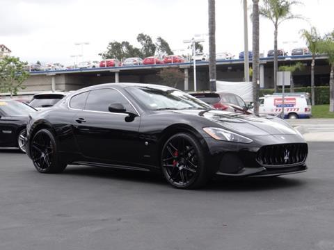 2018 Maserati GranTurismo for sale in Yorba Linda, CA