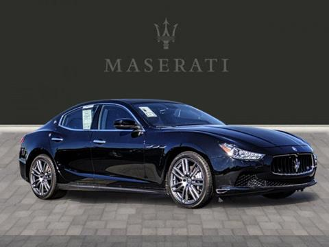 2017 Maserati Ghibli for sale in Yorba Linda, CA