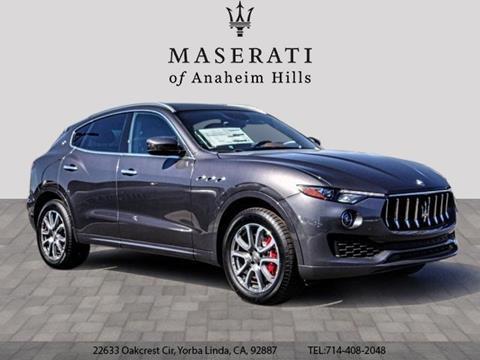 2019 Maserati Levante for sale in Yorba Linda, CA