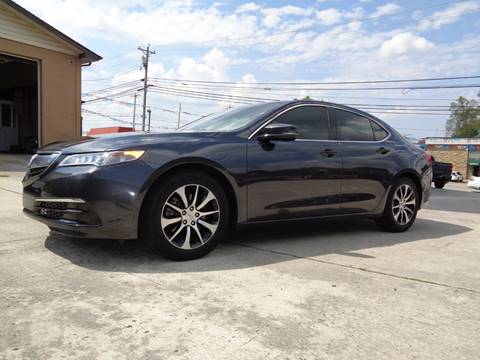 2015 Acura TLX for sale in Crossville, TN