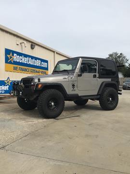 2000 Jeep Wrangler for sale in Baton Rouge, LA