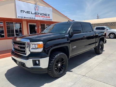 Melendez Auto Sales >> 2015 Gmc Sierra 1500 For Sale In El Paso Tx