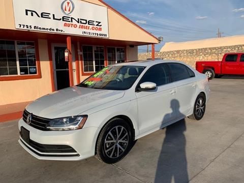 Melendez Auto Sales >> 2017 Volkswagen Jetta For Sale In El Paso Tx