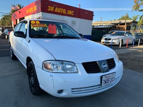 2006 Nissan Sentra for sale in Escondido, CA