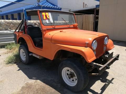 1972 Jeep CJ-5 for sale in El Paso, TX