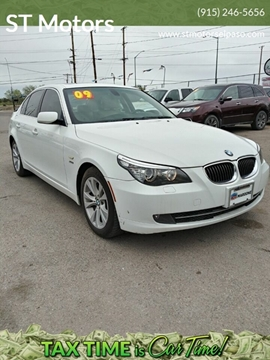 2009 BMW 5 Series 535i xDrive for sale at ST Motors in El Paso TX