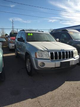2006 Jeep Grand Cherokee Limited for sale at ST Motors in El Paso TX