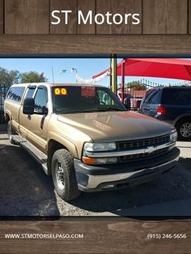 2000 Chevrolet Silverado 2500 LT for sale at ST Motors in El Paso TX