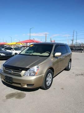 2006 Kia Sedona LX for sale at ST Motors in El Paso TX