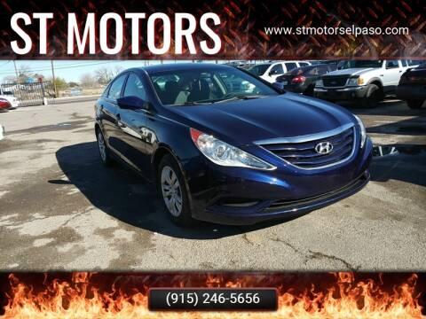 2011 Hyundai Sonata GLS for sale at ST Motors in El Paso TX