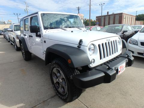 Jeep Des Moines >> 2016 Jeep Wrangler Unlimited For Sale In Des Moines Ia