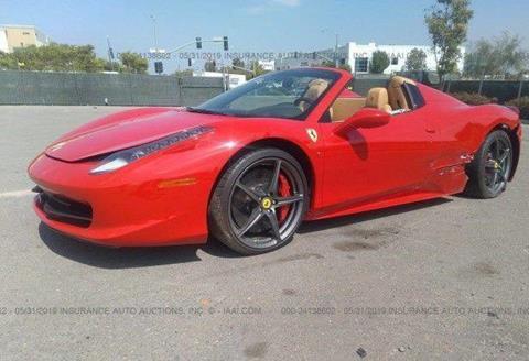 2013 Ferrari 458 Spider For Sale In Miami Fl
