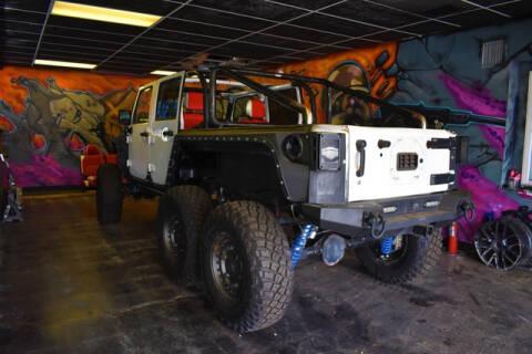 2018 Jeep Wrangler JK Unlimited for sale at ELITE MOTOR CARS OF MIAMI in Miami FL