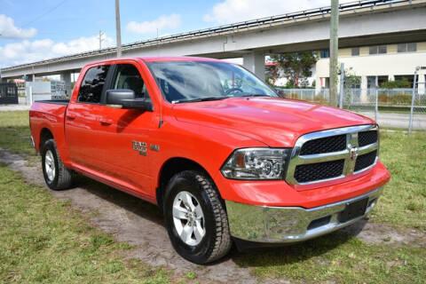 2019 RAM Ram Pickup 1500 Classic SLT for sale at ELITE MOTOR CARS OF MIAMI in Miami FL