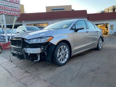 2019 Ford Fusion Hybrid for sale at ELITE MOTOR CARS OF MIAMI in Miami FL