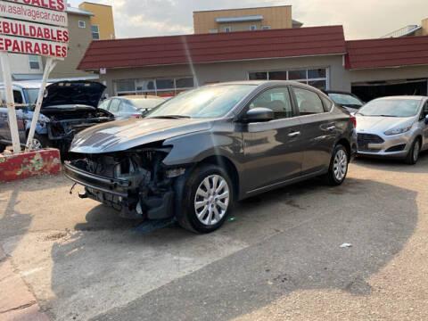2019 Nissan Sentra for sale at ELITE MOTOR CARS OF MIAMI in Miami FL