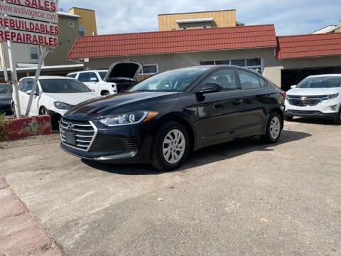 2018 Hyundai Elantra for sale at ELITE MOTOR CARS OF MIAMI in Miami FL