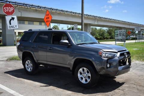 2019 Toyota 4Runner for sale at ELITE MOTOR CARS OF MIAMI in Miami FL