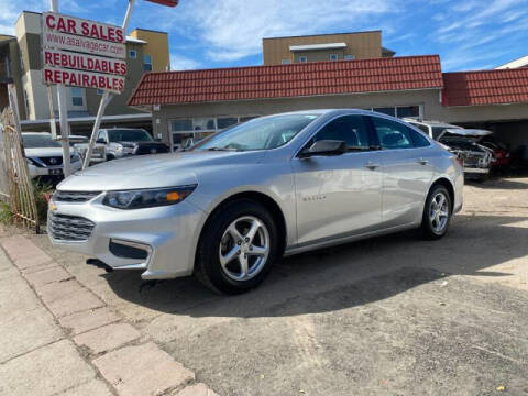 2018 Chevrolet Malibu for sale at ELITE MOTOR CARS OF MIAMI in Miami FL