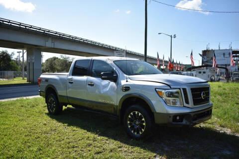 2016 Nissan Titan XD for sale at ELITE MOTOR CARS OF MIAMI in Miami FL