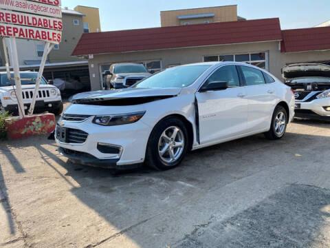 2017 Chevrolet Malibu for sale at ELITE MOTOR CARS OF MIAMI in Miami FL