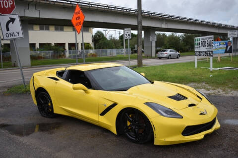2016 Chevrolet Corvette for sale at ELITE MOTOR CARS OF MIAMI in Miami FL