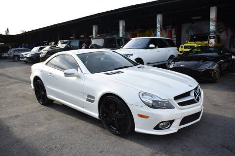 2011 Mercedes-Benz SL-Class for sale at ELITE MOTOR CARS OF MIAMI in Miami FL