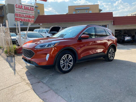 2020 Ford Escape for sale at ELITE MOTOR CARS OF MIAMI in Miami FL
