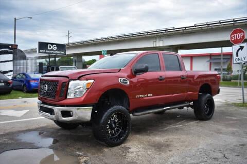 2017 Nissan Titan XD for sale at ELITE MOTOR CARS OF MIAMI in Miami FL