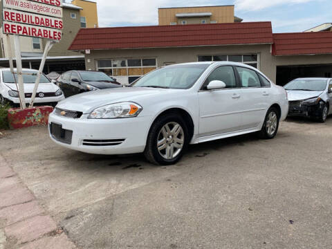 2016 Chevrolet Impala Limited for sale at ELITE MOTOR CARS OF MIAMI in Miami FL
