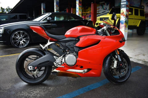 2014 Ducati Panigale for sale at ELITE MOTOR CARS OF MIAMI in Miami FL