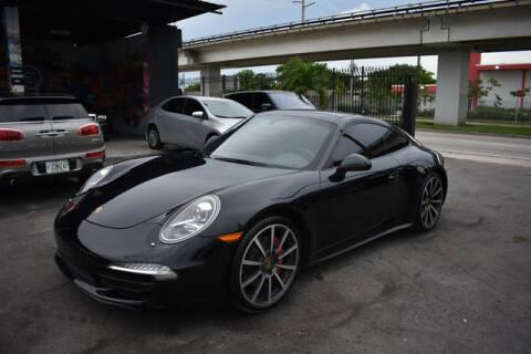 2015 Porsche 911 for sale at ELITE MOTOR CARS OF MIAMI in Miami FL
