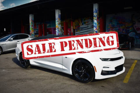 2019 Chevrolet Camaro for sale at ELITE MOTOR CARS OF MIAMI in Miami FL
