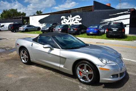 2006 Chevrolet Corvette for sale at ELITE MOTOR CARS OF MIAMI in Miami FL