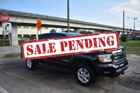 2019 GMC Canyon for sale at ELITE MOTOR CARS OF MIAMI in Miami FL