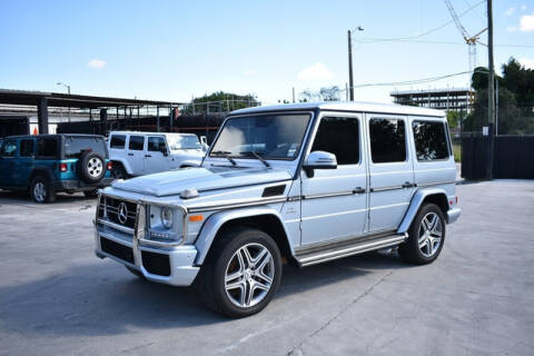 2017 Mercedes-Benz G-Class for sale at ELITE MOTOR CARS OF MIAMI in Miami FL