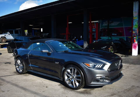 2017 Ford Mustang for sale at ELITE MOTOR CARS OF MIAMI in Miami FL