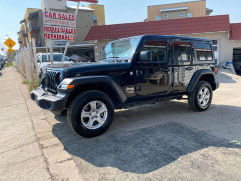 2019 Jeep Wrangler Unlimited for sale at ELITE MOTOR CARS OF MIAMI in Miami FL
