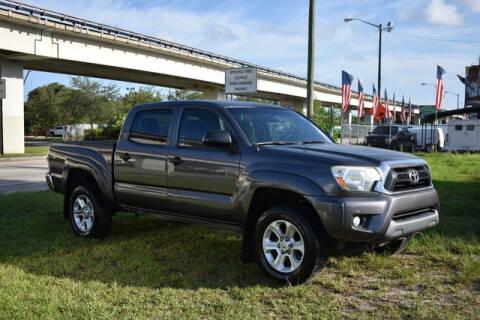 2015 Toyota Tacoma for sale at ELITE MOTOR CARS OF MIAMI in Miami FL
