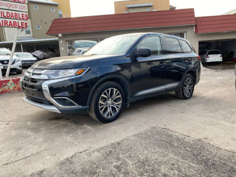 2016 Mitsubishi Outlander for sale at ELITE MOTOR CARS OF MIAMI in Miami FL