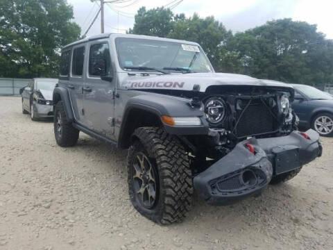 2020 Jeep Wrangler Unlimited for sale at ELITE MOTOR CARS OF MIAMI in Miami FL